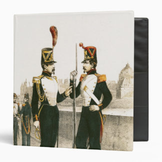 The Parisian Municipale Guard Binder
