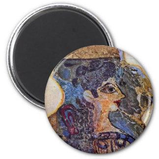 """The Parisienne """"Detail, Fr: La"""" """"Parisienne"""" Détai 2 Inch Round Magnet"""
