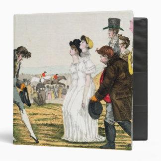 The Parisienne in London Vinyl Binder