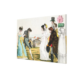 The Parisienne in London Stretched Canvas Prints