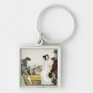 The Parisienne in London Key Chains