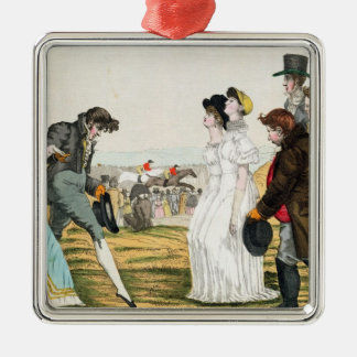 The Parisienne in London Christmas Tree Ornament