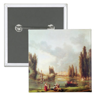 The Park and Chateau at Mereville Buttons