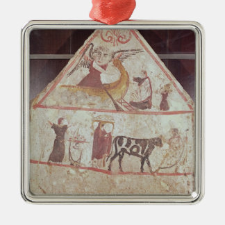 The park and procession of Charon Metal Ornament