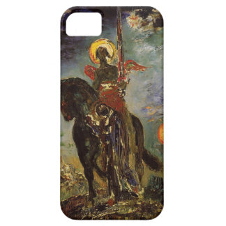 The park and the angel of death by Gustave Moreau iPhone SE/5/5s Case