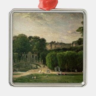 The Park at St. Cloud, 1865 Metal Ornament