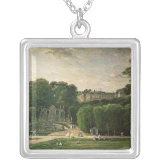 The Park at St. Cloud, 1865 Silver Plated Necklace