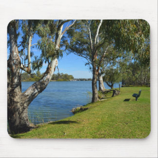 The Park Bench, Berri, South Australia, Mouse Pad