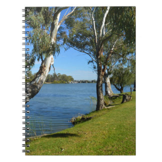 The Park Bench, Berri, South Australia, Spiral Notebook