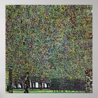 The Park by Gustav Klimt Poster