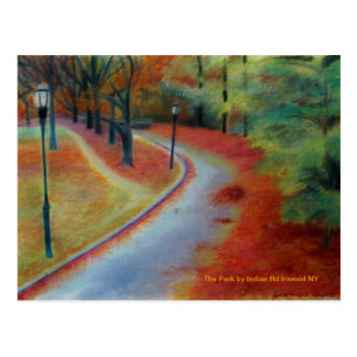 The Park By Indian Rd Inwood NY Post Cards