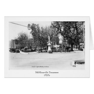 The Park-McMinnville Tennessee Card