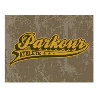 The Parkour Postcard