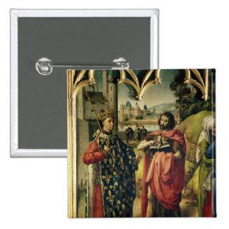 The Parlement of Paris Altarpiece Pinback Button