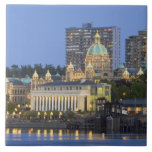 The Parliament Buliding lit up at the inner Ceramic Tile