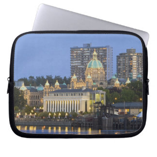 The Parliament Buliding lit up at the inner Laptop Sleeve