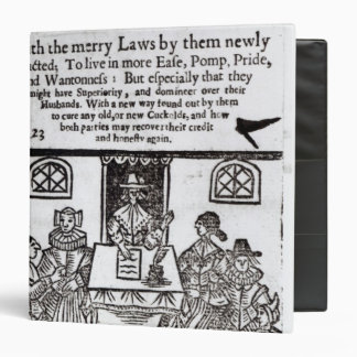 The Parliament of Women, 1656 3 Ring Binders