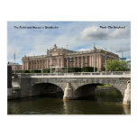 The Parliment House in Stockholm... Post Cards