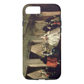 The Parlour of the San Zaccaria Convent (oil on ca iPhone 7 Case