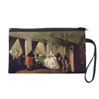 The Parlour of the San Zaccaria Convent (oil on ca Wristlet