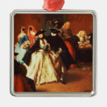 The Parlour (oil on canvas) Christmas Ornaments