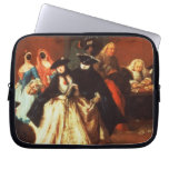The Parlour (oil on canvas) Laptop Computer Sleeve
