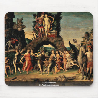 The Parnassus By Andrea Mantegna Mouse Pad