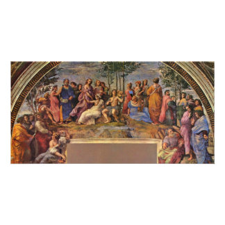 The Parnassus By Raffael (Best Quality) Photo Greeting Card