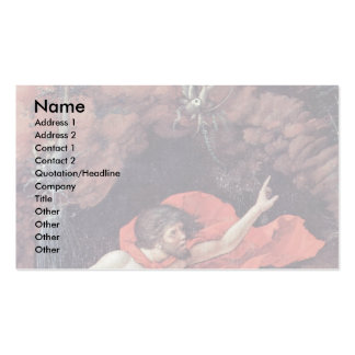 The Parnassus Detail By Andrea Mantegna Double-Sided Standard Business Cards (Pack Of 100)