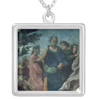 The Parnassus Silver Plated Necklace