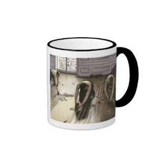 The Parquet Planers, 1875 Ringer Mug
