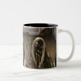 The Parquet Planers, 1875 Two-Tone Coffee Mug