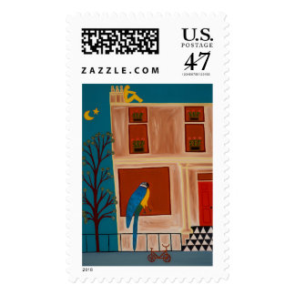 The Parrot from Shepherd's Bush 2007 Postage