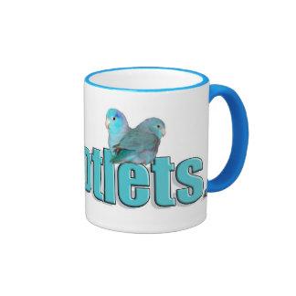The Parrotlets Pacific Blue Parrotlet Coffee Mug