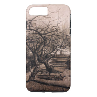 The Parsonage Garden - Nuenen in Winter - van Gogh iPhone 7 Plus Case