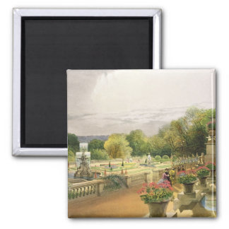 The Parterre, Harewood House near Leeds, pub. by T 2 Inch Square Magnet