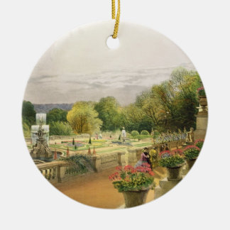 The Parterre, Harewood House near Leeds, pub. by T Ceramic Ornament
