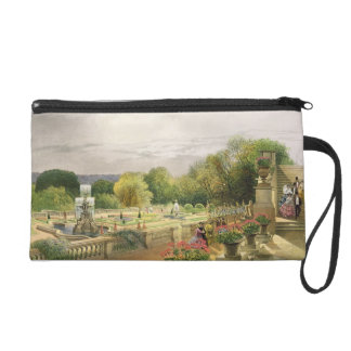 The Parterre, Harewood House near Leeds, pub. by T Wristlet Purse