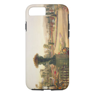 The Parterre, Trentham Hall Gardens, pub. by Thoma iPhone 7 Case