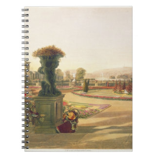 The Parterre, Trentham Hall Gardens, pub. by Thoma Notebook