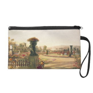The Parterre, Trentham Hall Gardens, pub. by Thoma Wristlet Purse
