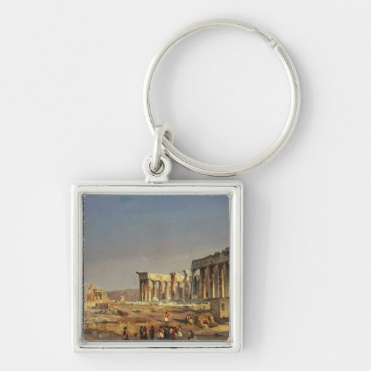 The Parthenon, 1863 Keychain