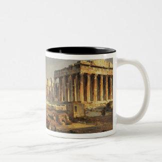 The Parthenon, 1863 Two-Tone Coffee Mug