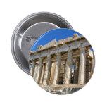 The Parthenon at Acropolis  447 BC 2 Inch Round Button