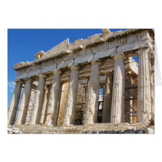 The Parthenon at Acropolis  447 BC Card