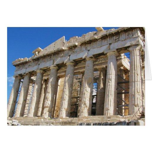 The Parthenon at Acropolis  447 BC Cards