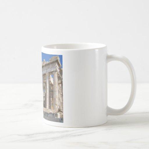 The Parthenon at Acropolis  447 BC Classic White Coffee Mug