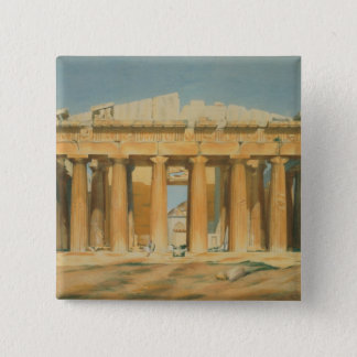 The Parthenon, Athens, 1810-37 Pinback Button