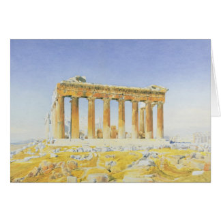 The Parthenon, c.1834 (w/c over pencil on paper) Card