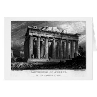 The Parthenon Card